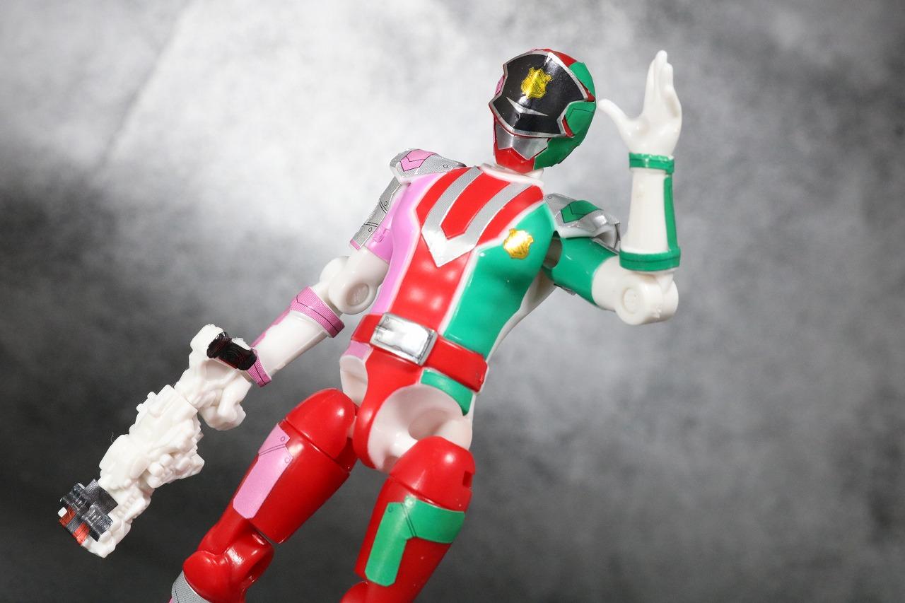 勇動2 パトレンU号 快盗戦隊ルパンレンジャーVS警察戦隊パトレンジャー レビュー アクション