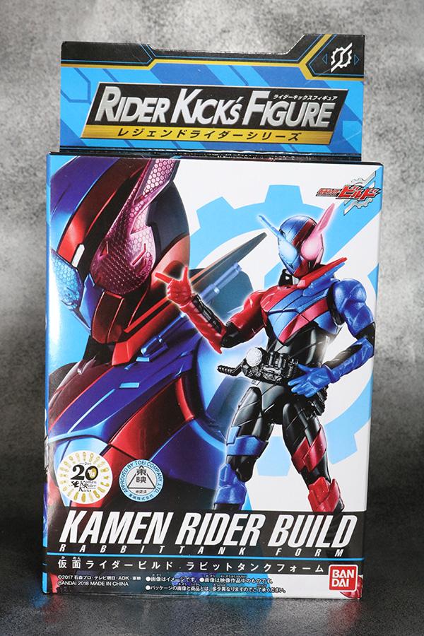 RKF RIDER KICK'S FIGURE 仮面ライダービルド ラビットタンクフォーム レビュー パッケージ