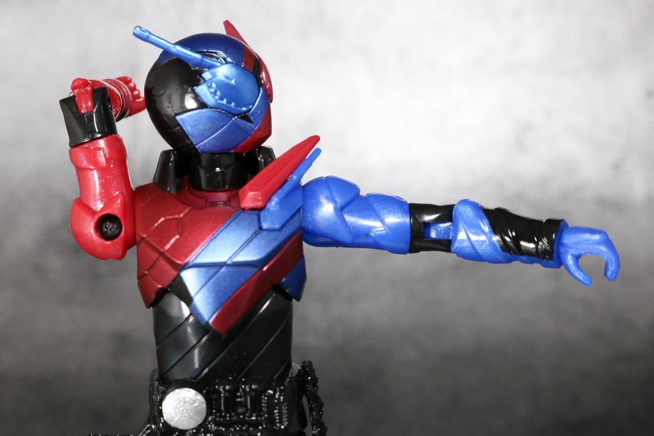 RKF RIDER KICK'S FIGURE 仮面ライダービルド ラビットタンクフォーム レビュー 可動範囲