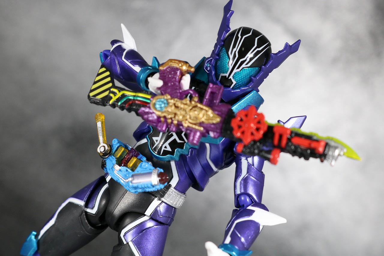 S.H.フィギュアーツ 仮面ライダーローグ レビュー アクション
