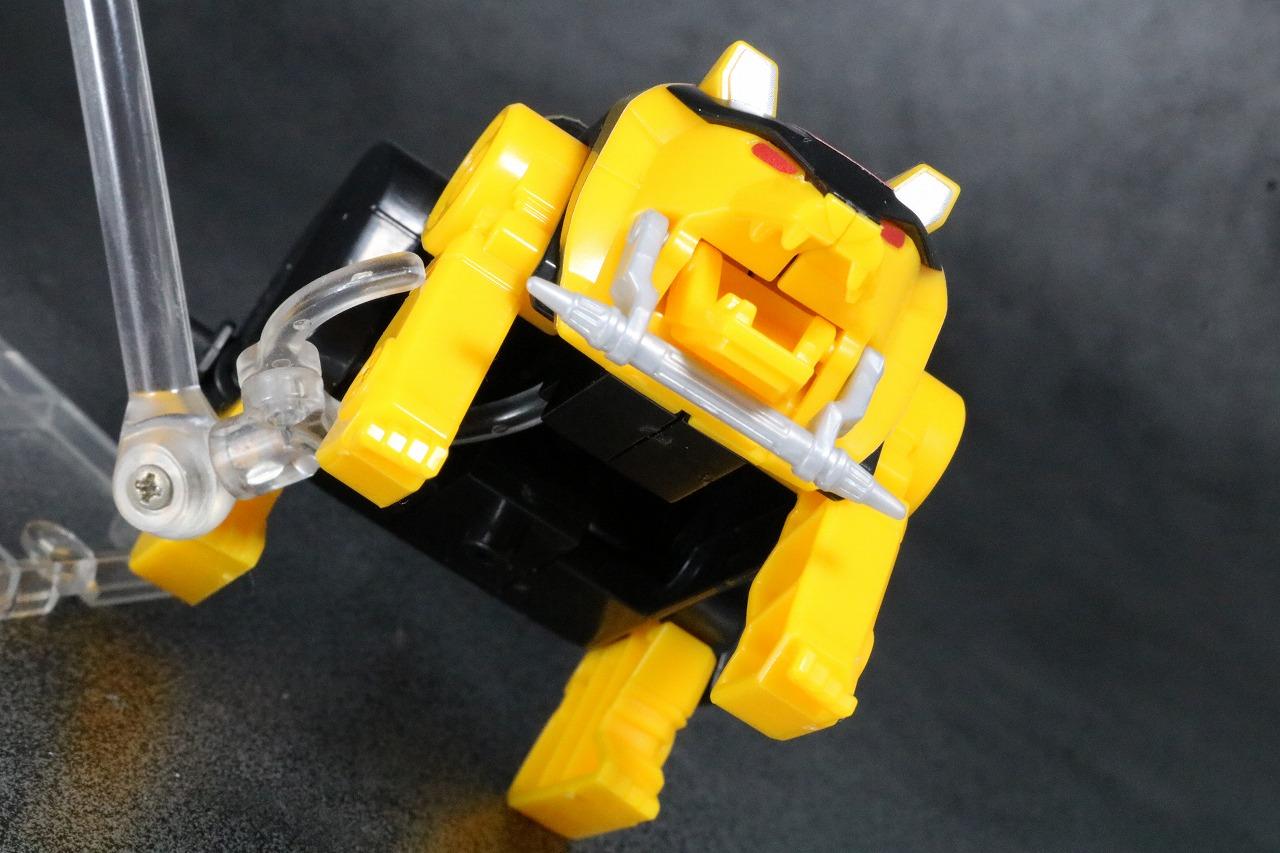 スーパーミニプラ 隠大将軍 レビュー ゴッドクマ―ド アクション