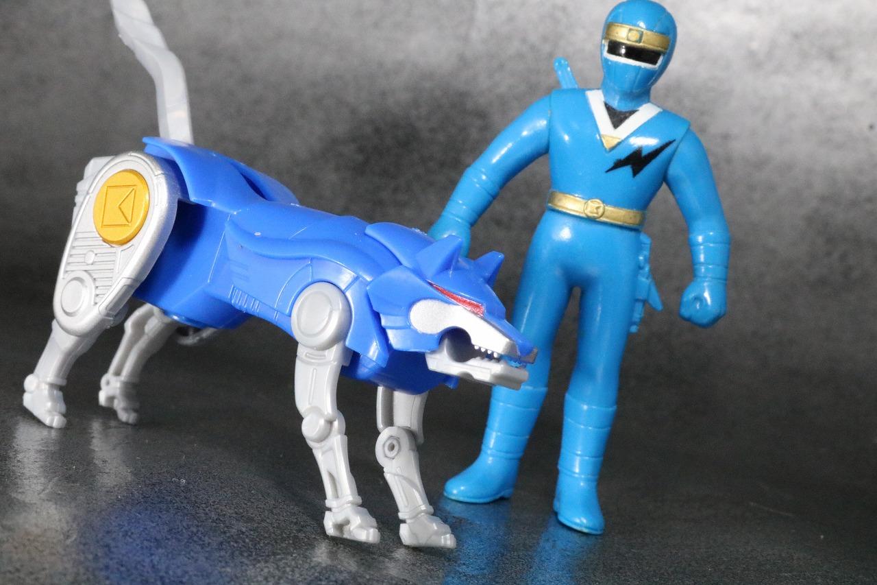 スーパーミニプラ 隠大将軍 レビュー ゴッドロウガン アクション