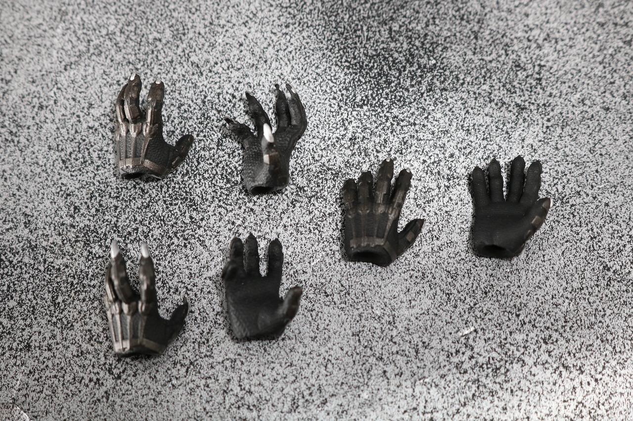 S.H.フィギュアーツ ブラックパンサー アベンジャーズ/インフィニティウォー レビュー 付属品