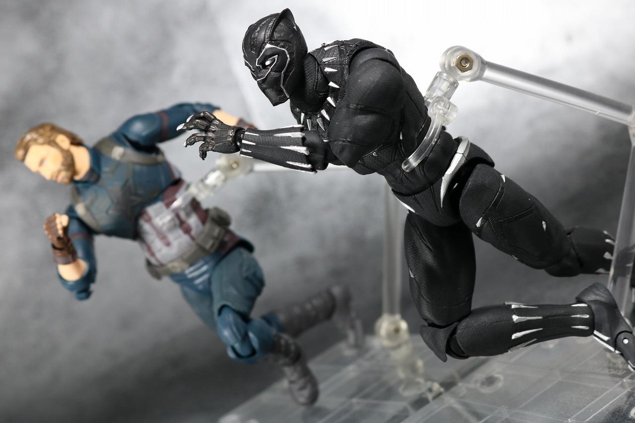 S.H.フィギュアーツ ブラックパンサー アベンジャーズ/インフィニティウォー レビュー アクション