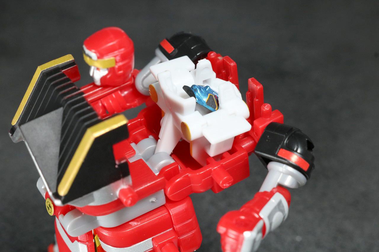 スーパーミニプラ 無敵将軍 レビュー レッドサルダー 全身