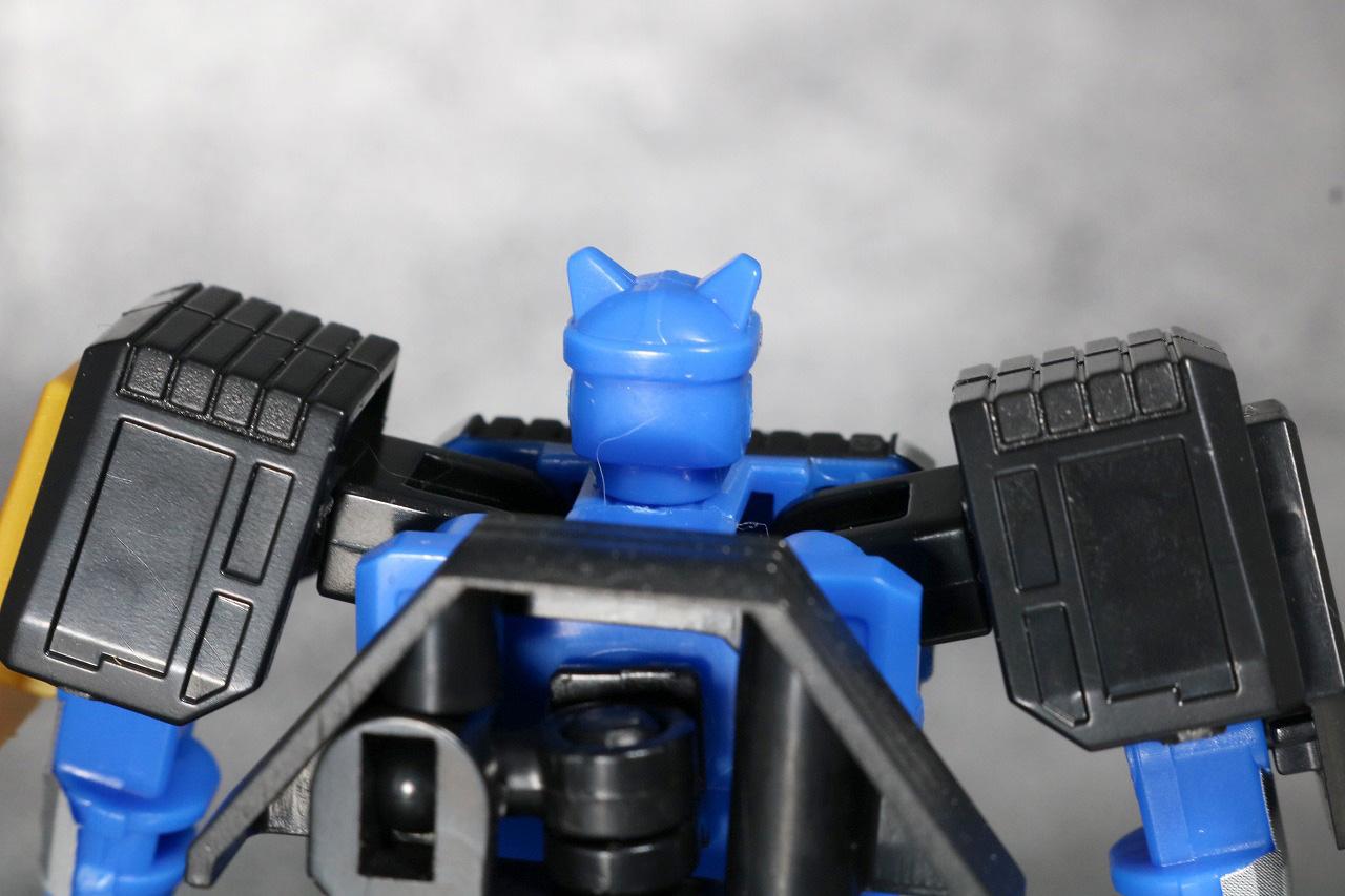 スーパーミニプラ 無敵将軍 レビュー ブルーロウガン 全身