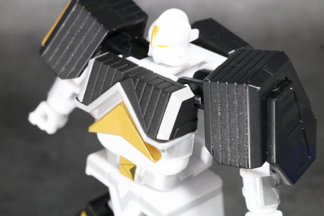 スーパーミニプラ 無敵将軍 レビュー ホワイトカーク 全身