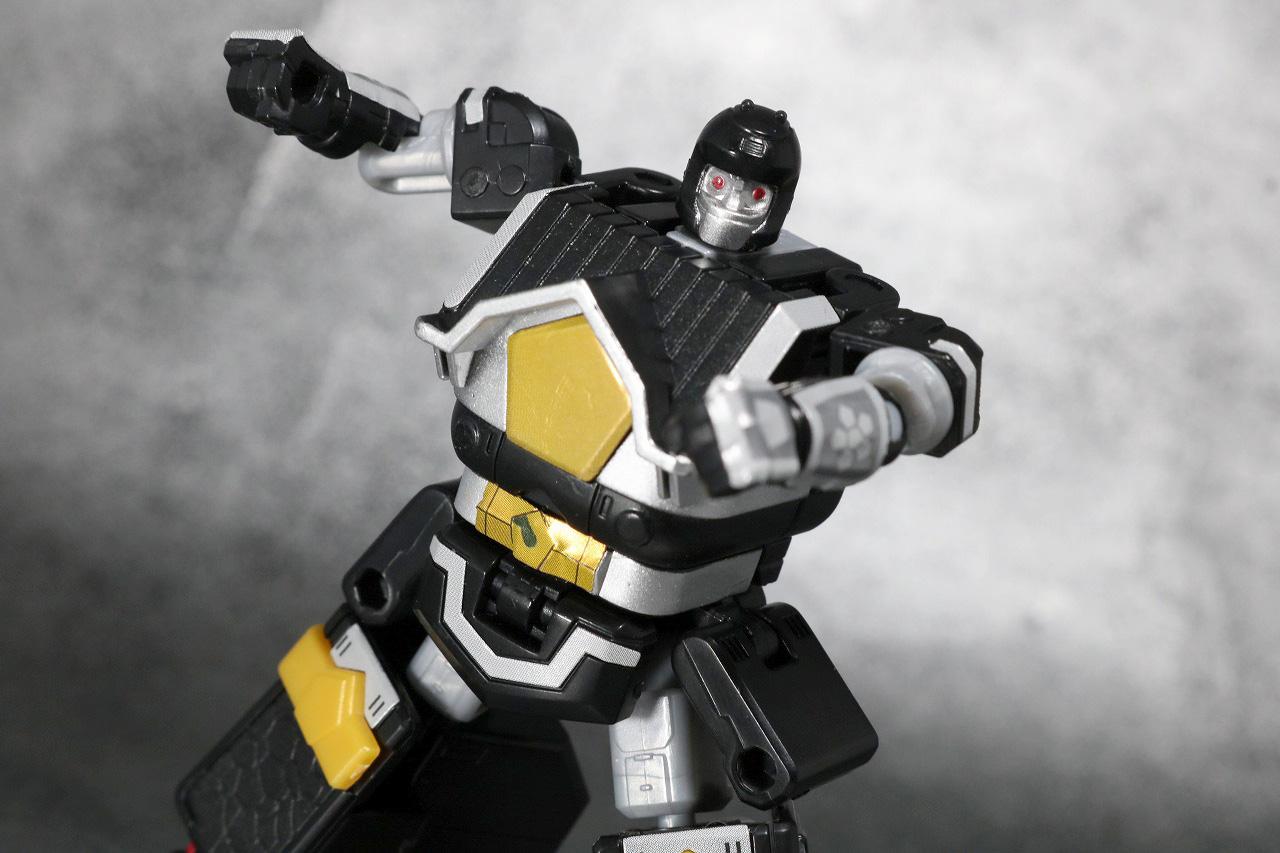 スーパーミニプラ 無敵将軍 レビュー ブラックガンマー アクション