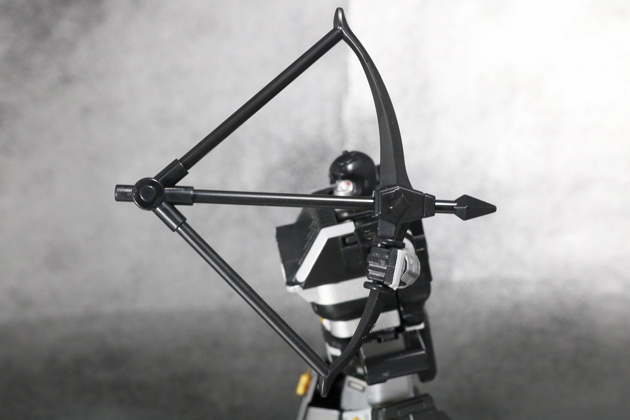 スーパーミニプラ 無敵将軍 レビュー ブラックガンマー 付属品