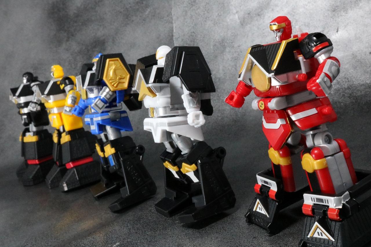 スーパーミニプラ 無敵将軍 レビュー 五獣将 アクション