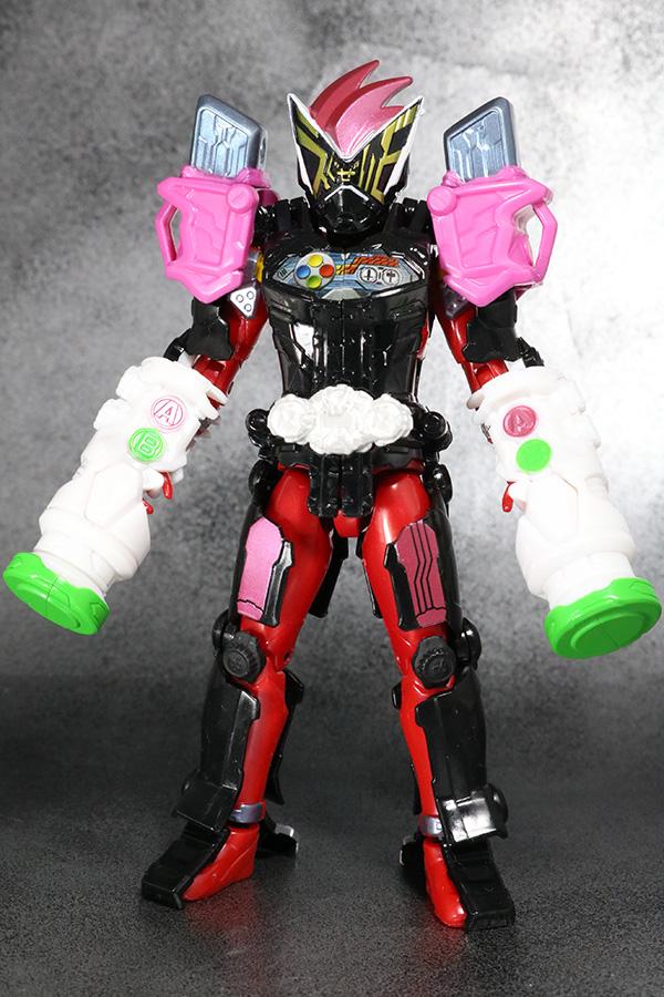 RKF RIDER KICK'S FIGURE 仮面ライダーゲイツ エグゼイドアーマー レビュー 全身