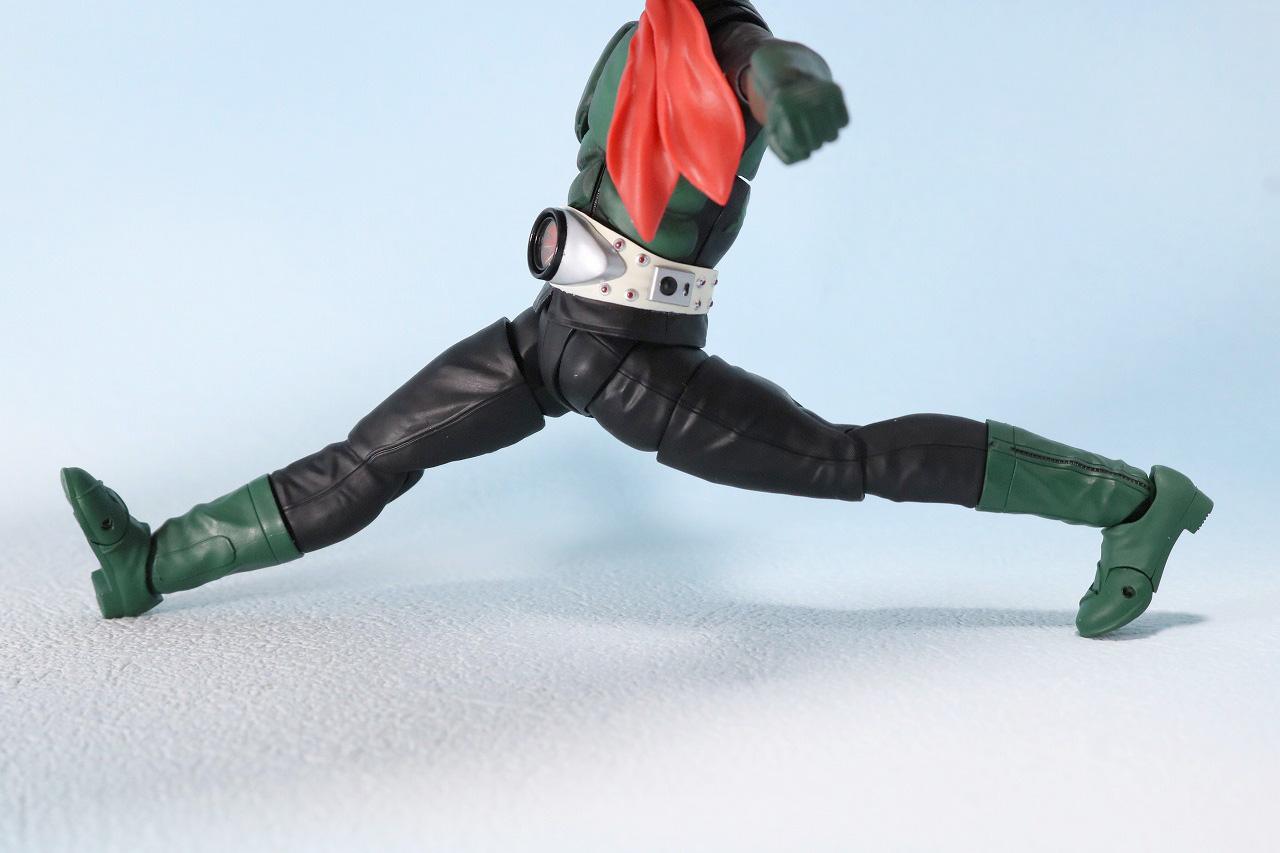S.H.フィギュアーツ 仮面ライダー1号 桜島1号 レビュー 魂ネイション2018 可動範囲