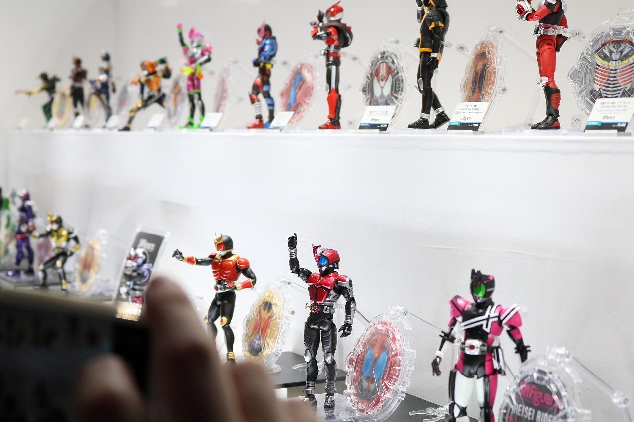 魂ネイション2018 レポート S.H.フィギュアーツ 平成仮面ライダー 真骨彫製法
