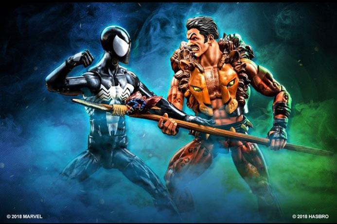 マーベルレジェンド新作!ブラックスパイダーマン&クレイヴン・ザ・ハンターがセットで登場!