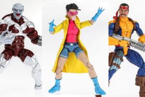 マーベルレジェンド新作!X-MENからフォージ、キャリバン、ジュビリー、シャドウキングが登場!