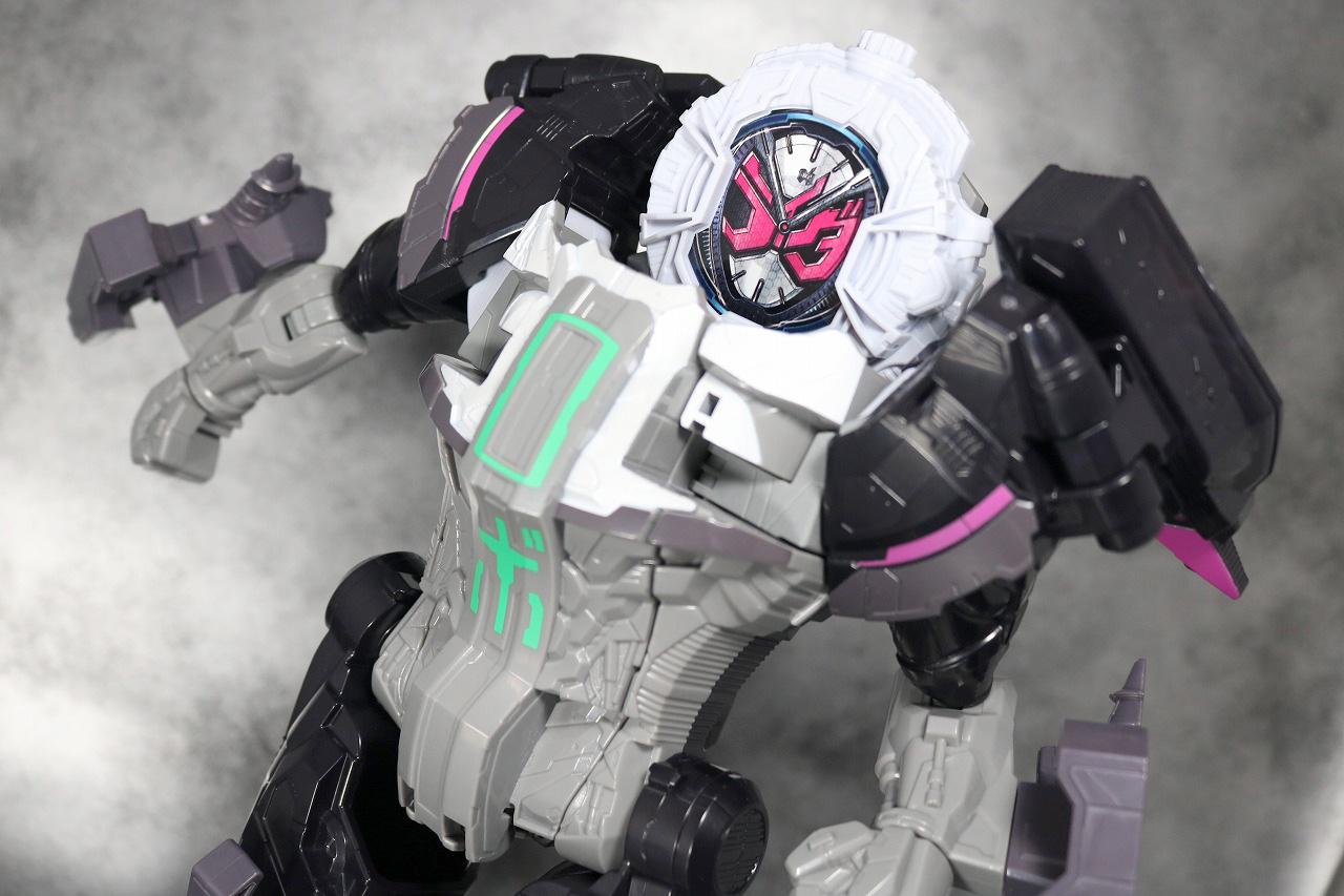 DXタイムマジーン レビュー バトルモード アクション