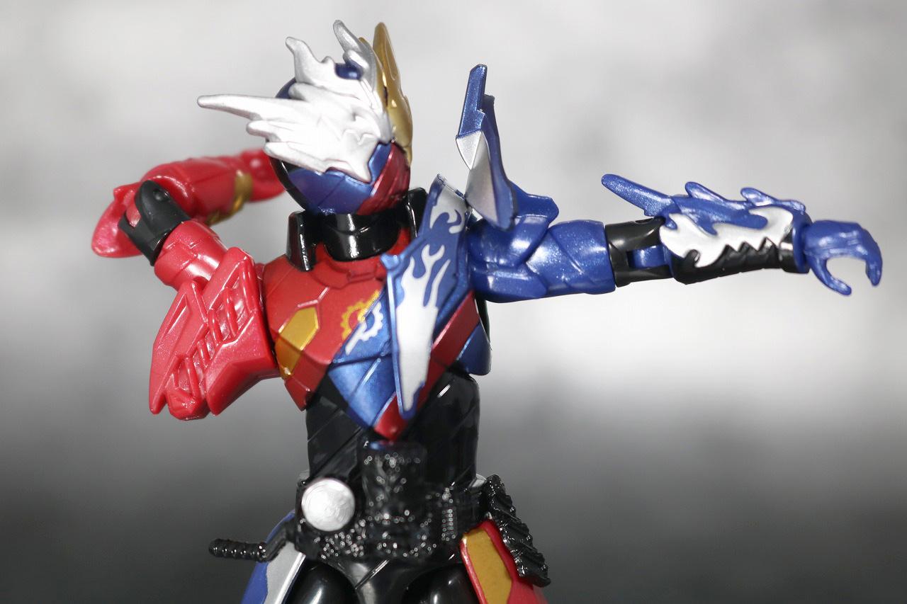 RKF RIDER KICK'S FIGURE 仮面ライダービルド クローズビルドフォーム レビュー 可動範囲