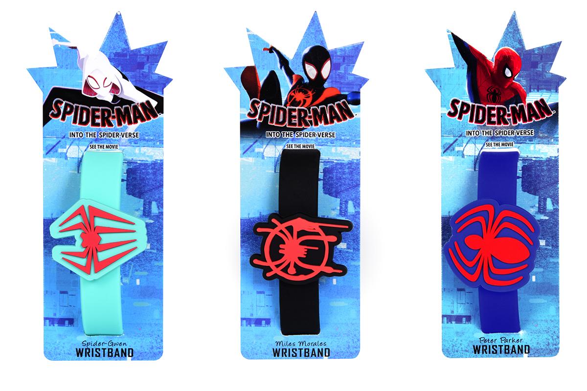東京コミコン限定ムビチケ リストバンド スパイダーマン:スパイダーバース