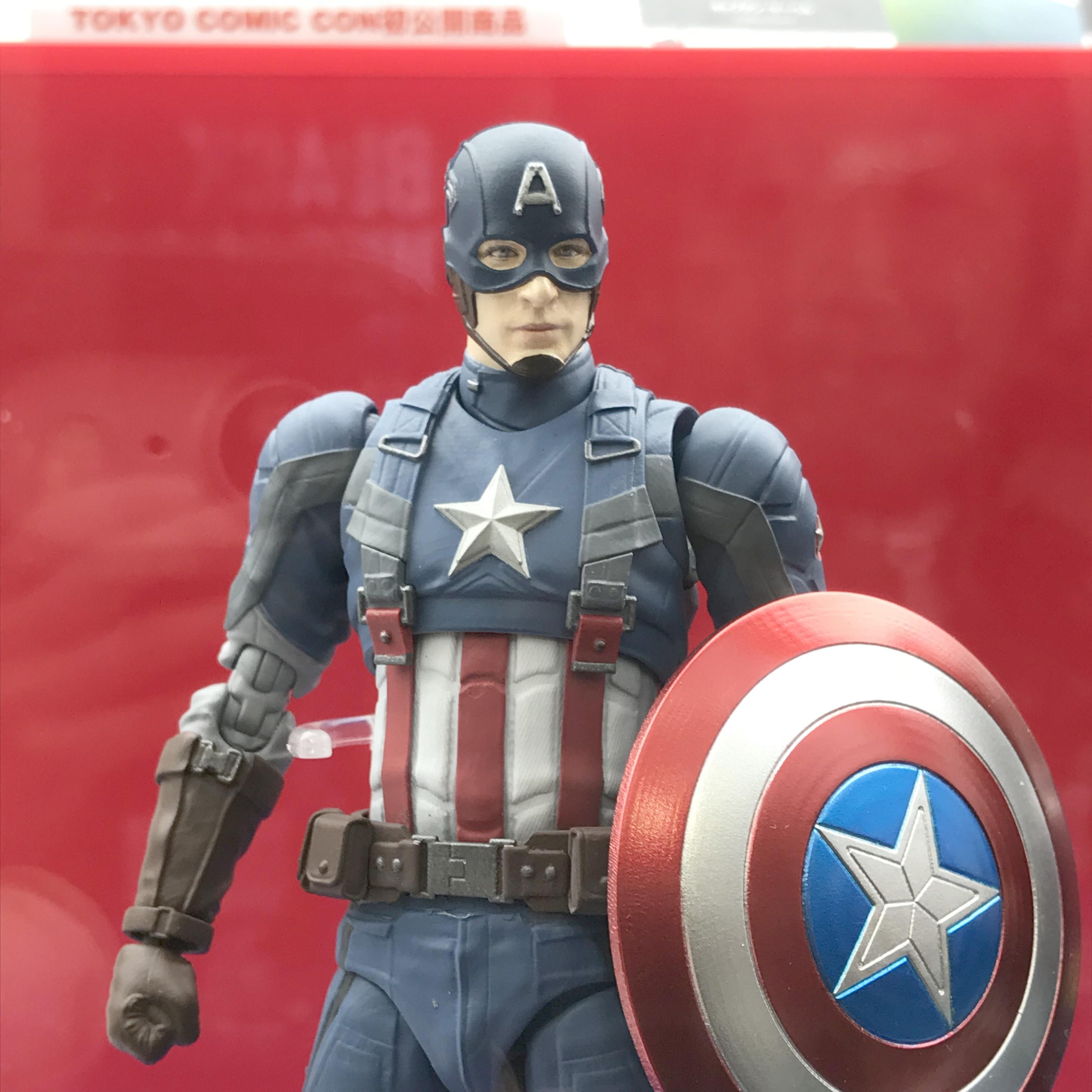 S.H.フィギュアーツ キャプテンアメリカ ウィンターソルジャー