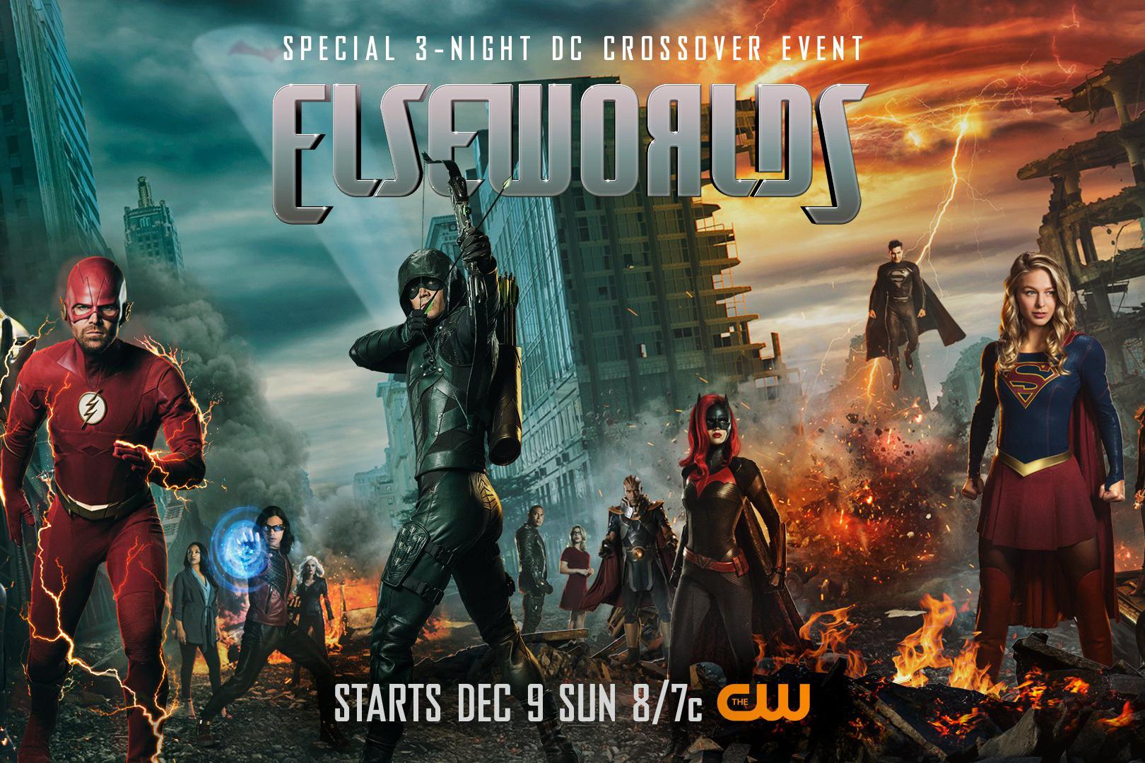 クロスオーバー作品『エルスワールド』のポスターが公開!バットウーマンや2人のスーパーマン?