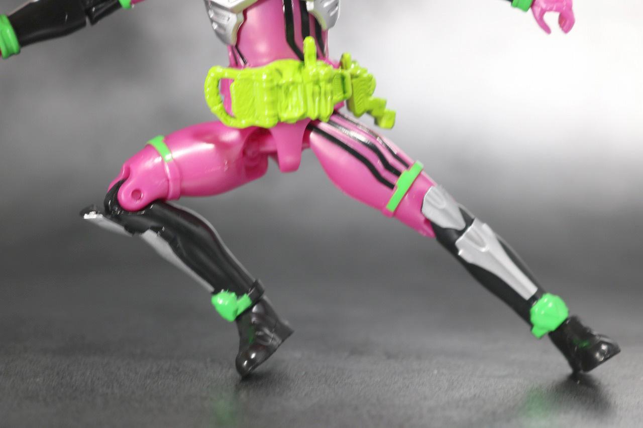 RKF RIDER KICK'S FIGURE 仮面ライダーエグゼイド アクションゲーマー レベル2 レビュー 可動範囲