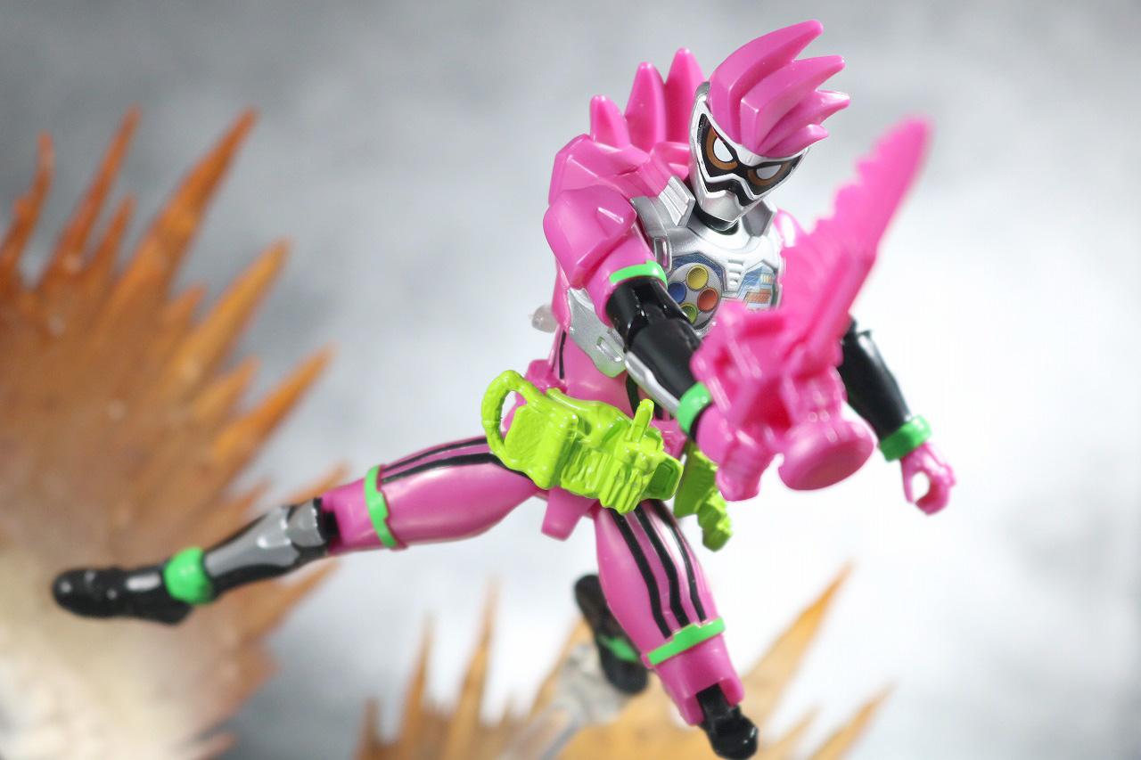RKF RIDER KICK'S FIGURE 仮面ライダーエグゼイド アクションゲーマー レベル2 レビュー アクション