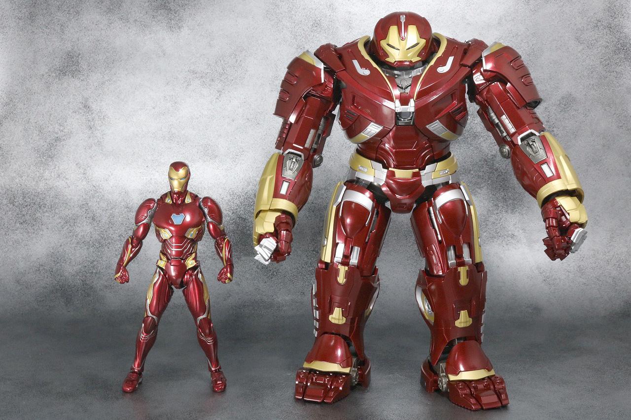 超合金 x S.H.フィギュアーツ ハルクバスター マーク2 レビュー 全身 アイアンマン マーク50