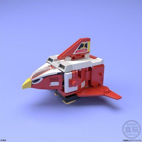 スーパーミニプラ ジェットイカロス 鳥人戦隊ジェットマン ジェットホーク