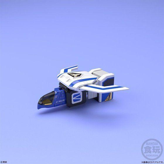 スーパーミニプラ ジェットイカロス 鳥人戦隊ジェットマン ジェットスワロー