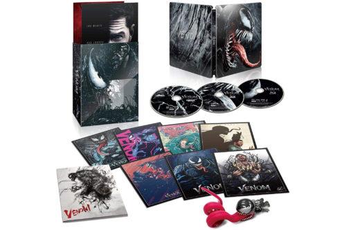『ヴェノム』DVD&Blu-rayが3月6日に発売!日本限定スチールブックやAmazon限定ディスクも!