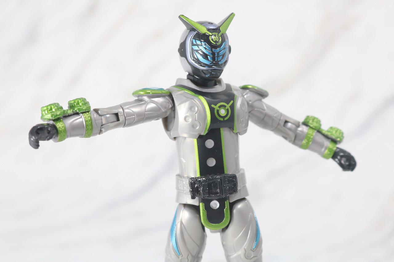 RKF RIDER KICK'S FIGURE 仮面ライダーウォズ レビュー 可動範囲