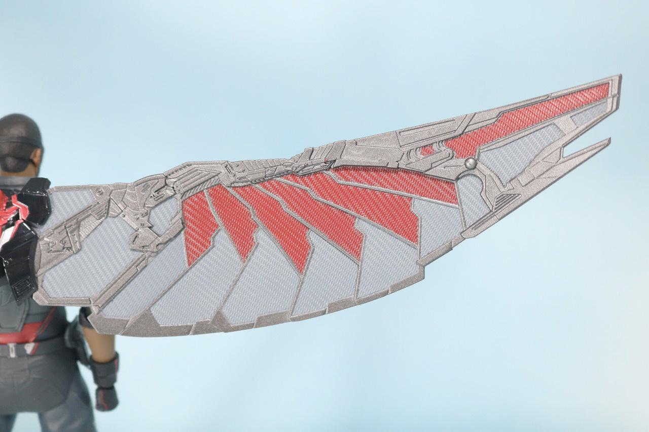 S.H.フィギュアーツ ファルコン アベンジャーズ/インフィニティウォー レビュー 付属品 翼 ウィング