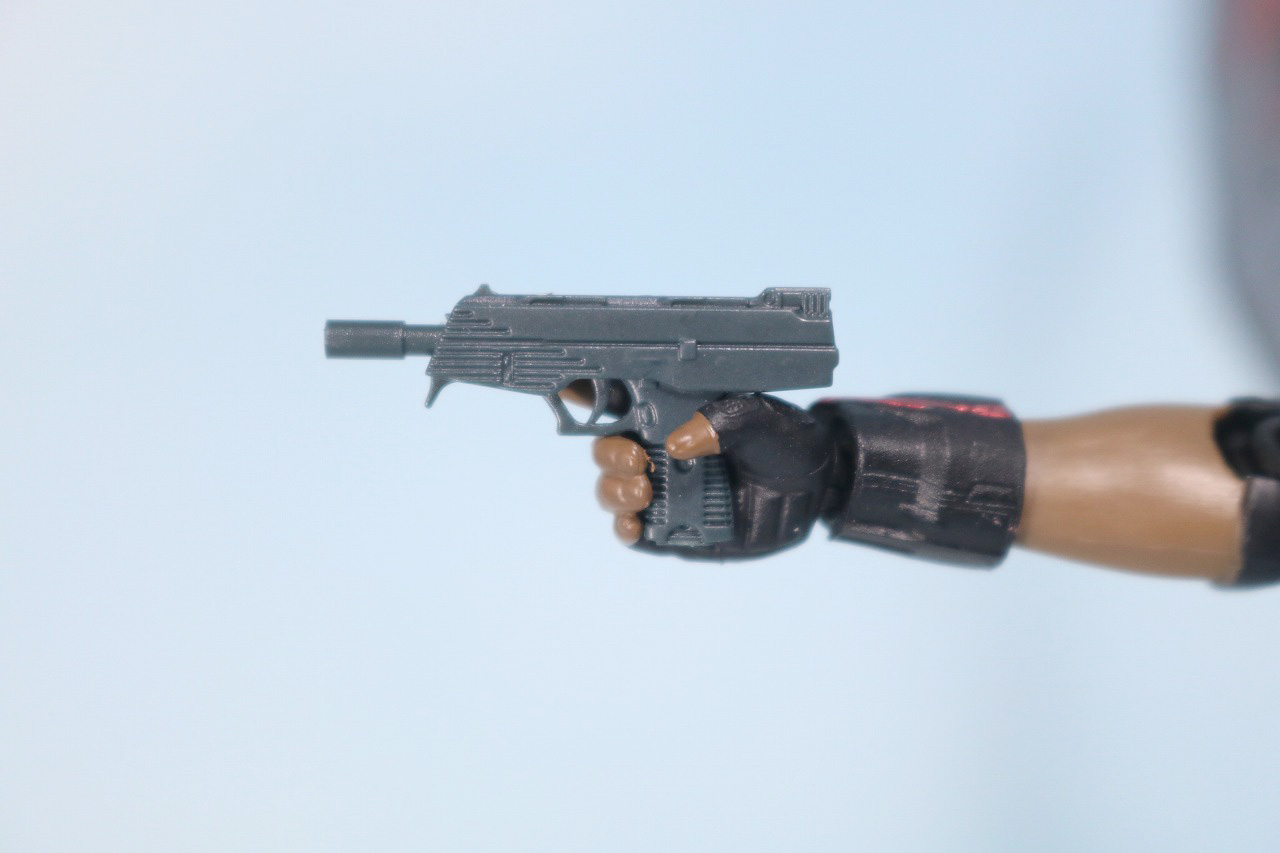 S.H.フィギュアーツ ファルコン アベンジャーズ/インフィニティウォー レビュー 付属品 小銃