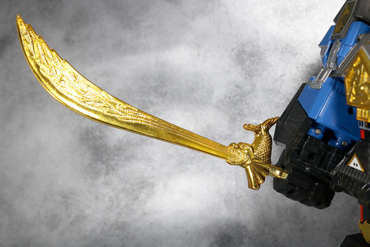 DX 無敵将軍 レビュー 付属品 火炎将軍剣