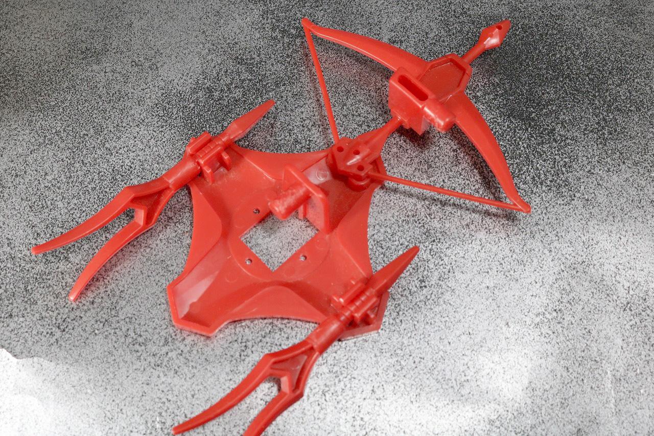 DX 無敵将軍 レビュー 玩具オリジナル武器 付属品