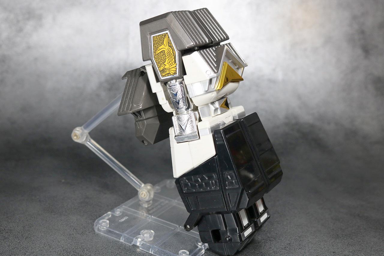DX 無敵将軍 レビュー 合体ギミック ホワイトカーク