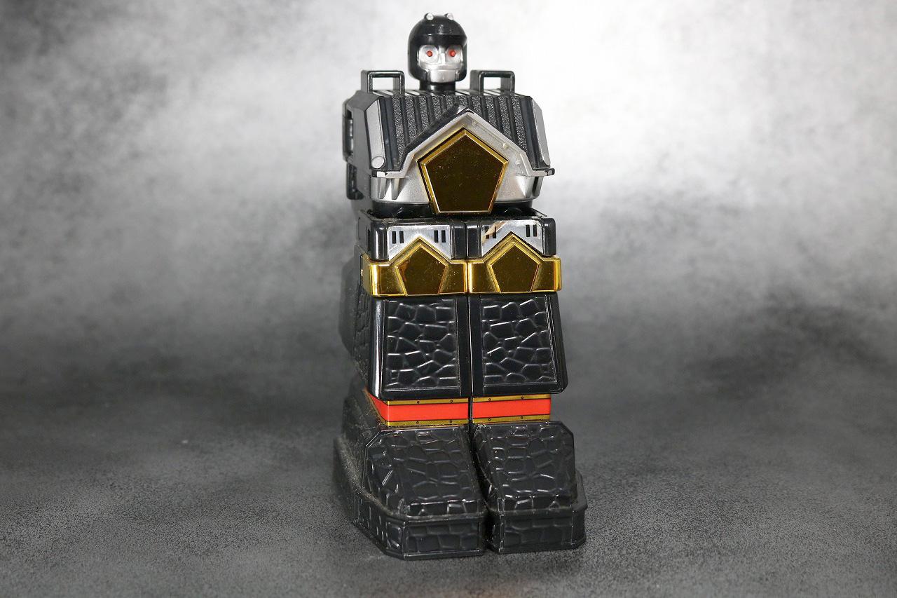 DX 無敵将軍 レビュー 合体ギミック ブラックガンマー