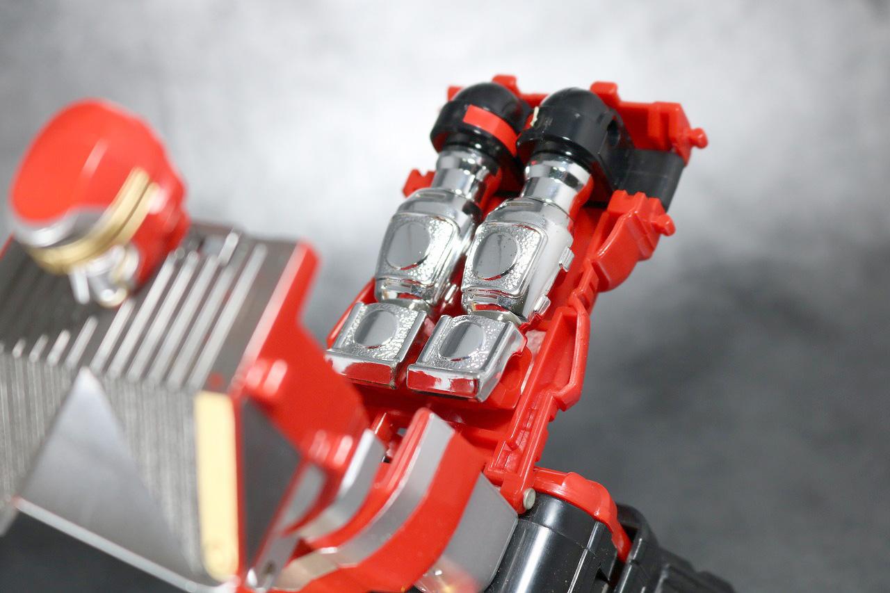 DX 無敵将軍 レビュー 合体ギミック レッドサルダー