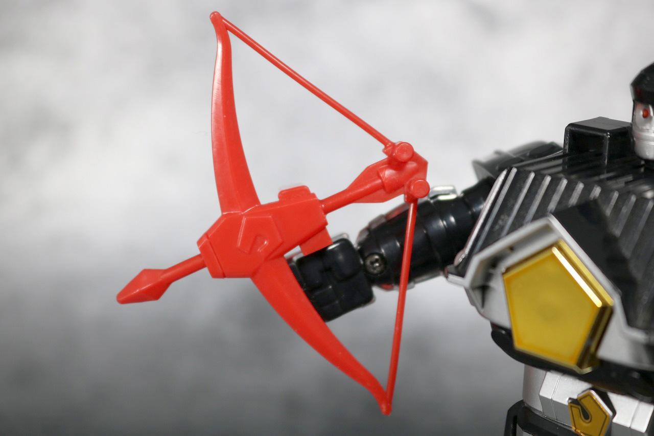 DX 無敵将軍 レビュー ブラックガンマー 付属品 ガンマーボウ