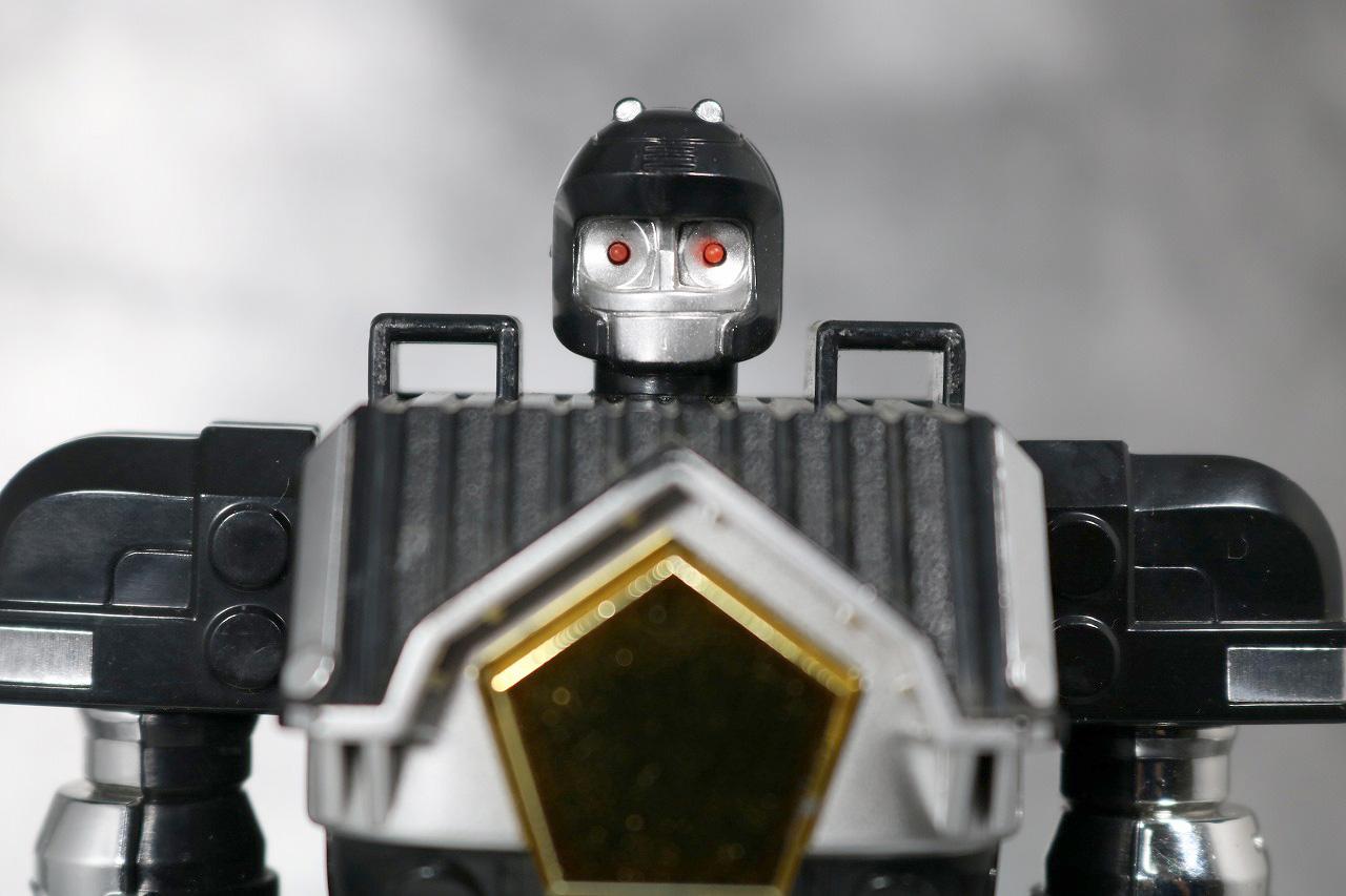 DX 無敵将軍 レビュー ブラックガンマー 全身