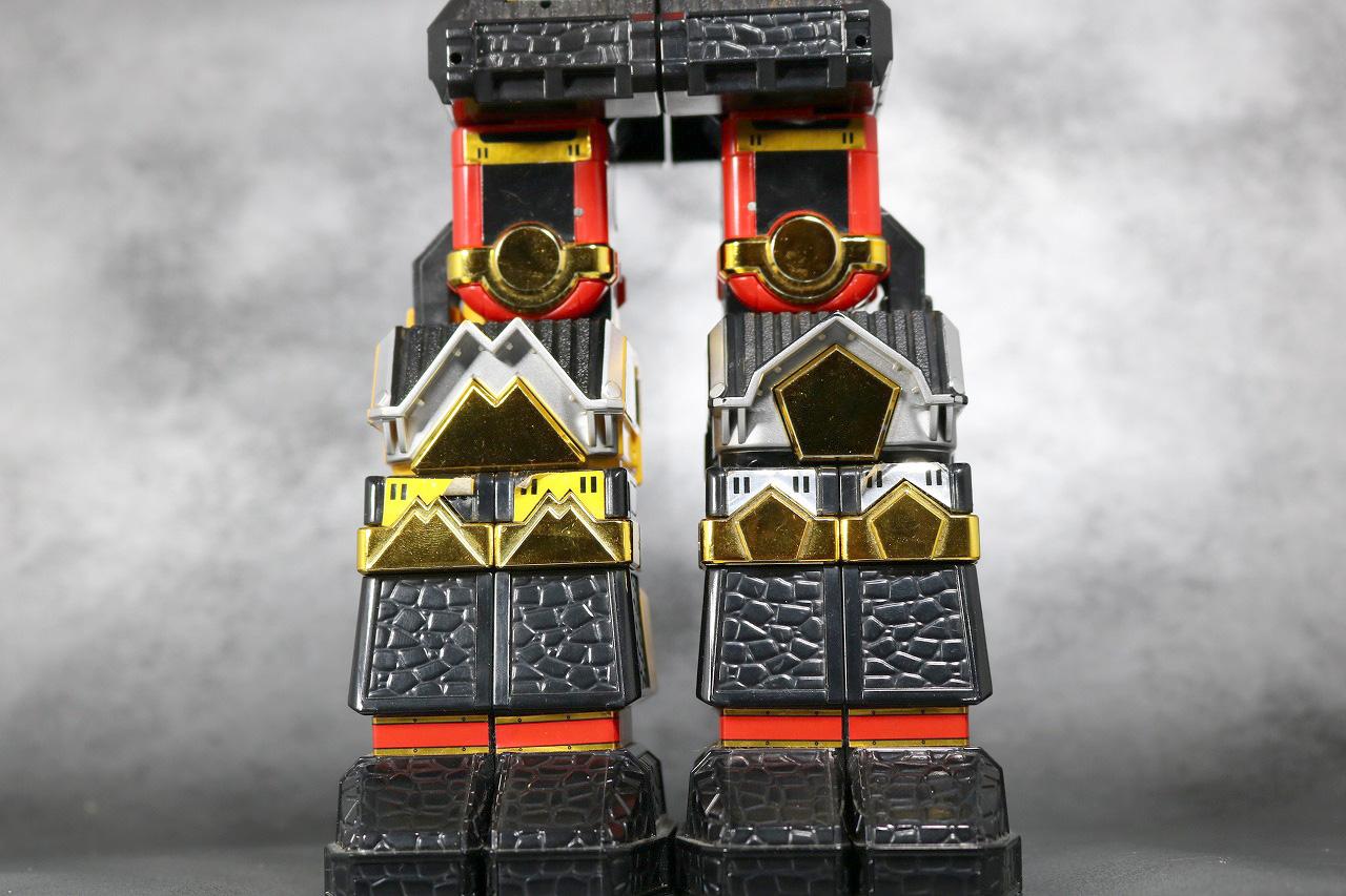 DX 無敵将軍 レビュー アクション 合体ギミック