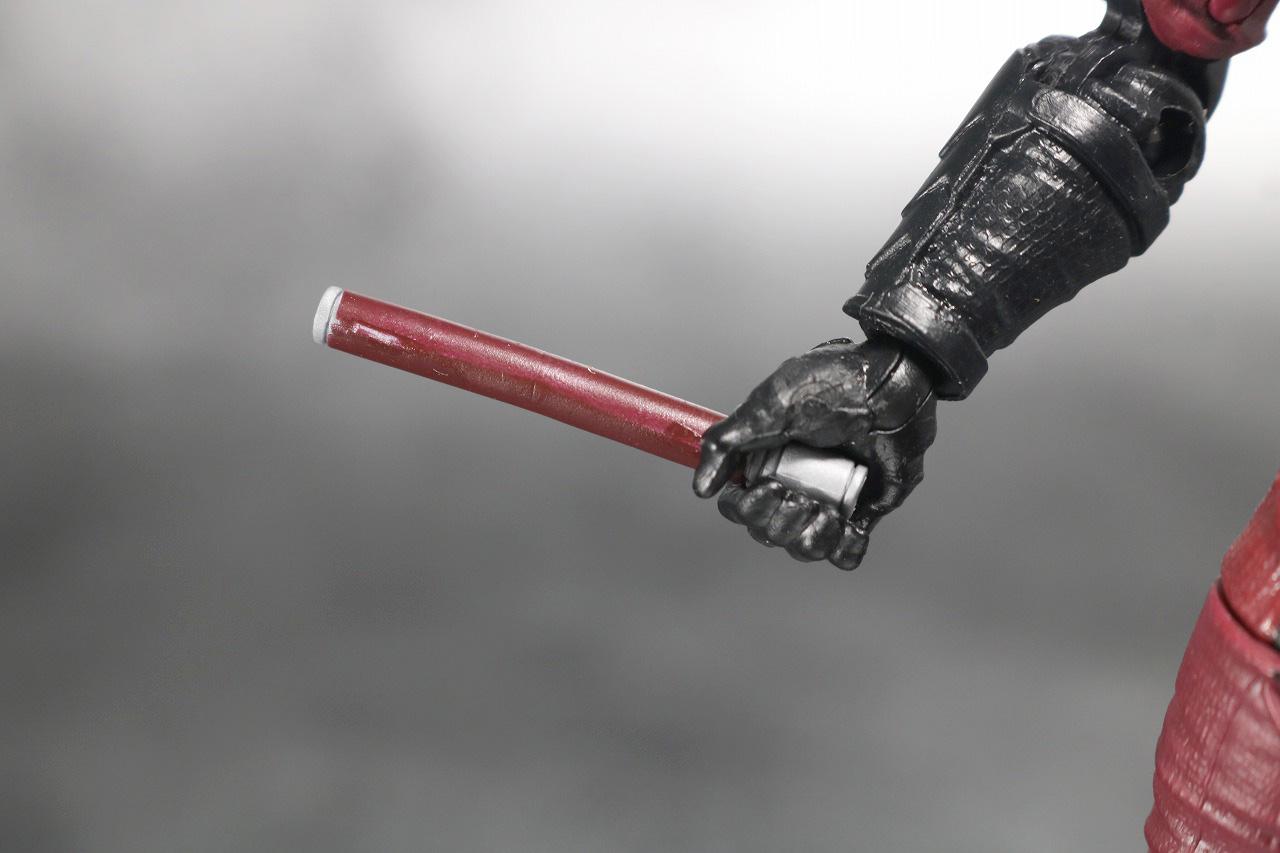 マーベルレジェンド デアデビル ザ・ディフェンダーズ レビュー 付属品 スティック