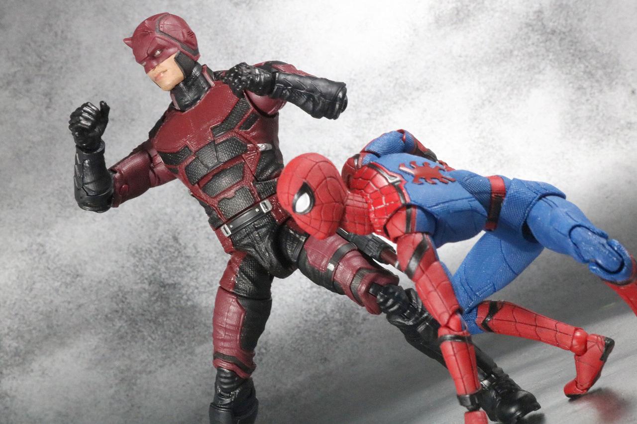 マーベルレジェンド デアデビル ザ・ディフェンダーズ レビュー アクション スパイダーマン