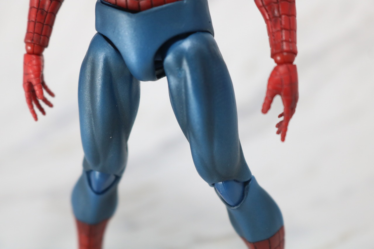 MAFEX スパイダーマン COMIC コミック Ver レビュー 全身