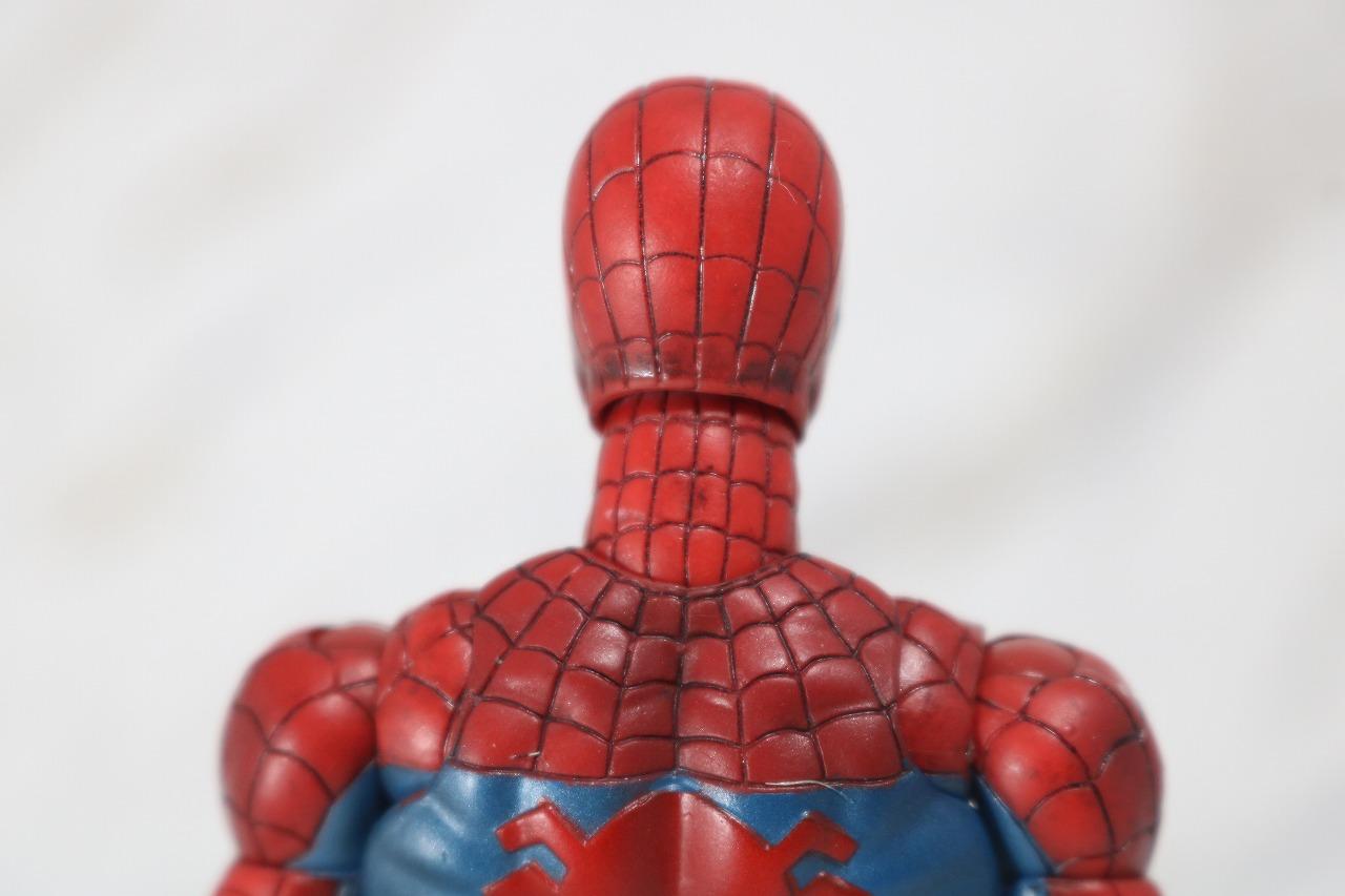 MAFEX スパイダーマン COMIC コミック Ver レビュー 全身 頭部 マスク