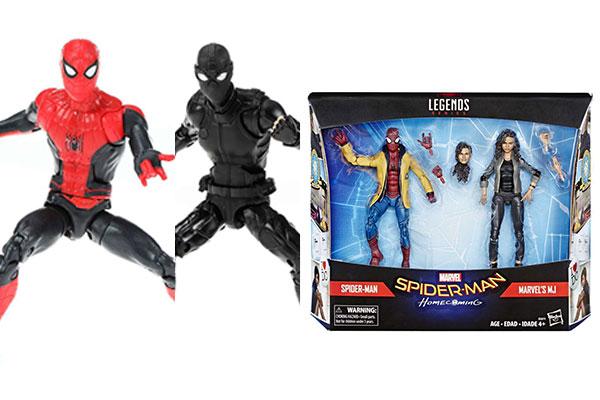 マーベルレジェンド新作!『FFH』から新スーツスパイダーマン、ステルススーツ、ミシェルとの2パックが発売!