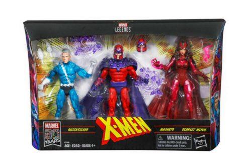 マーベルレジェンド新作!『X-MEN』より「マグニートー」「スカーレット・ウィッチ」「クイックシルバー」が3パックで発売!