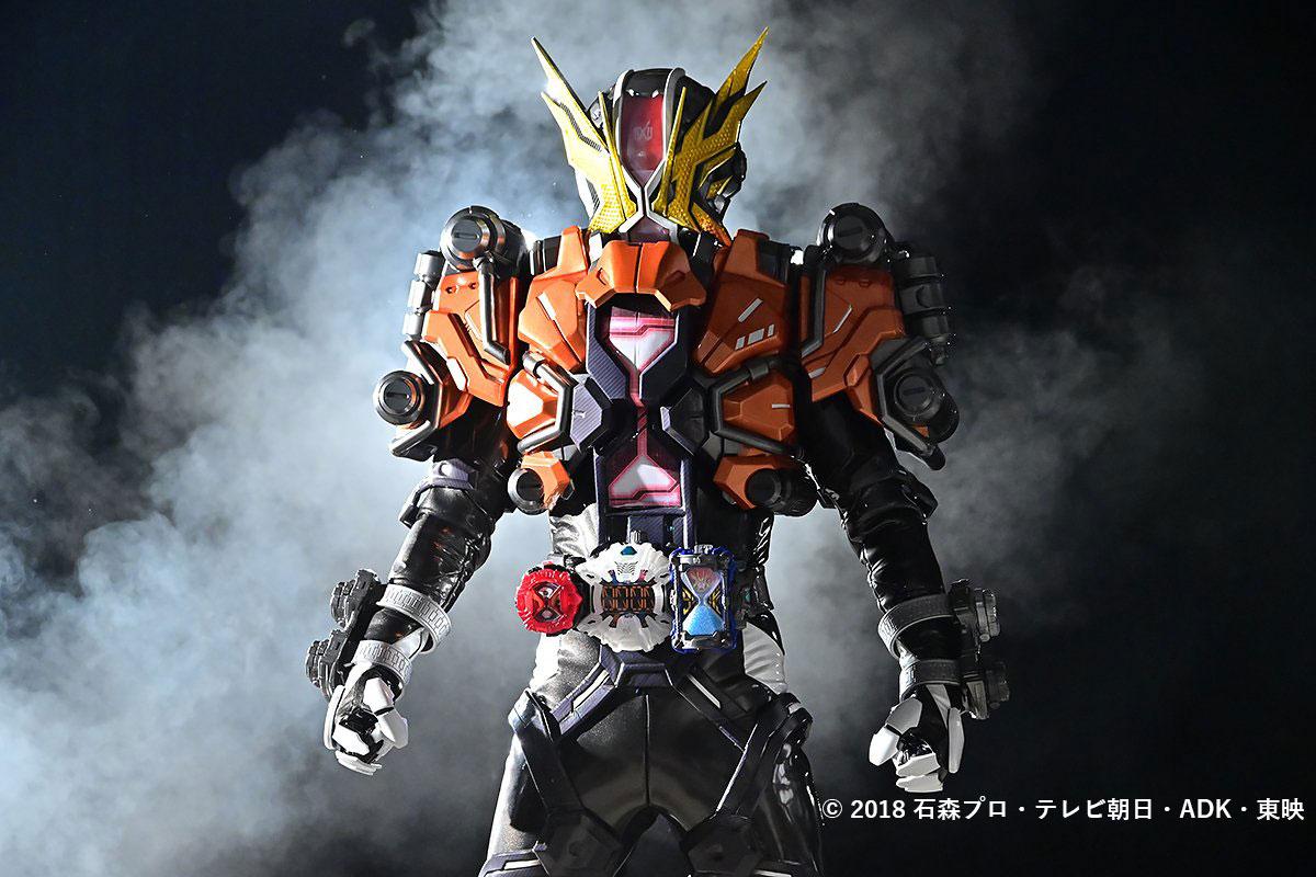 強化フォーム「仮面ライダーゲイツリバイブ」爆誕!剛烈・疾風2タイプの姿にチェンジ!