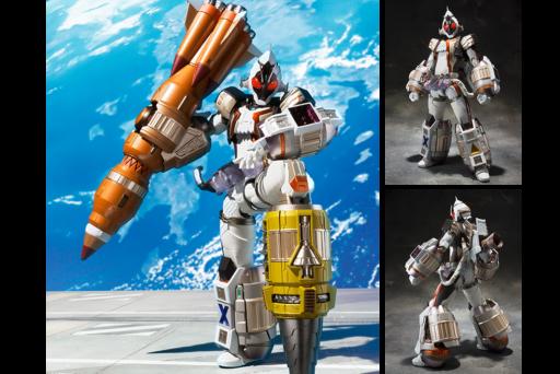 S.I.C新作!坂本洋一&KOMA×仮面ライダーフォーゼのサンプル画像が公開!メカニカルなデザインアレンジ!