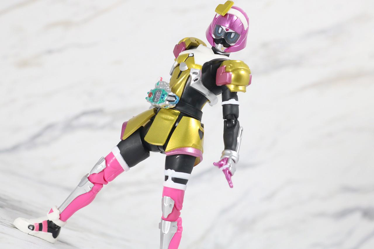 S.H.フィギュアーツ 仮面ライダーポッピー ときめきクライシスゲーマー レベルX レビュー アクション